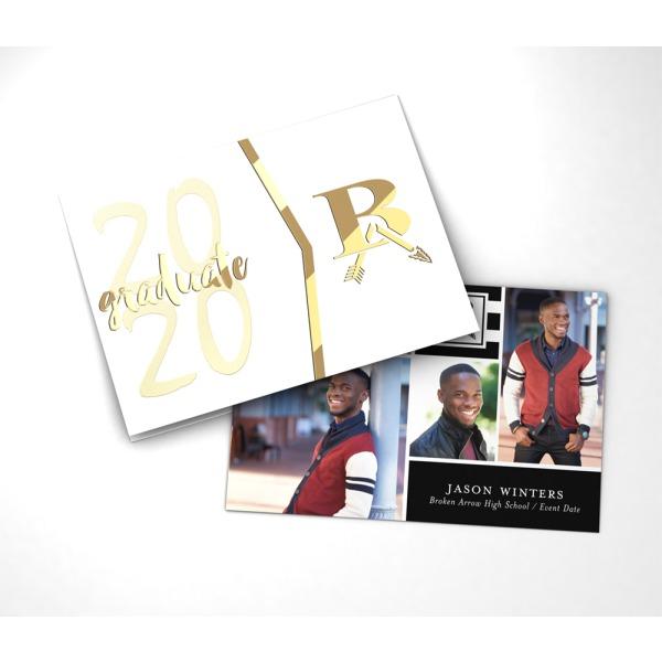 2020 Graduation Announcements.Broken Arrow High School Graduation Packages Jostens Grad