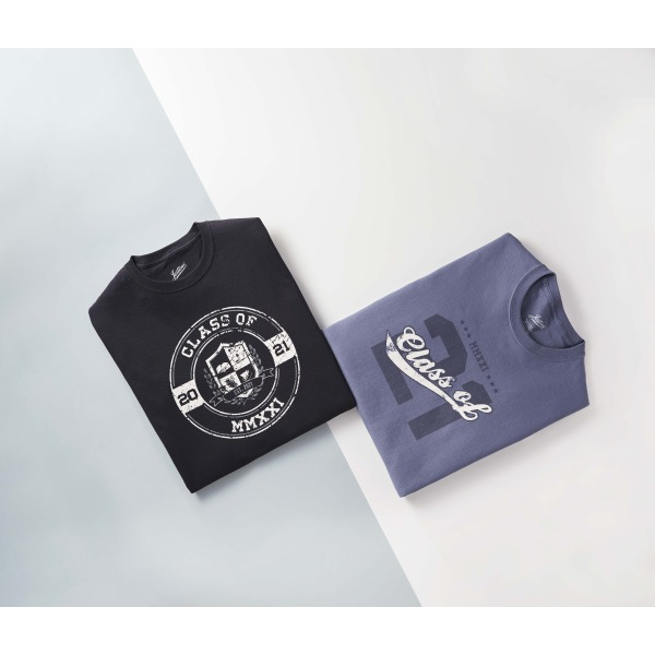 Senior Tee 2 - Pack (Black & Exclusive Blue)