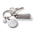 Metallic Tassel Key Ring