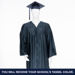 Cap & Gown Unit with Stole