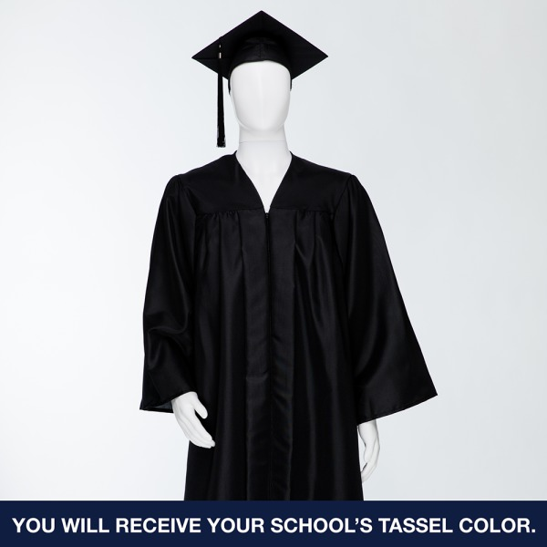Cap & Gown Unit with Souvenir Tassle & Custom Class Stole