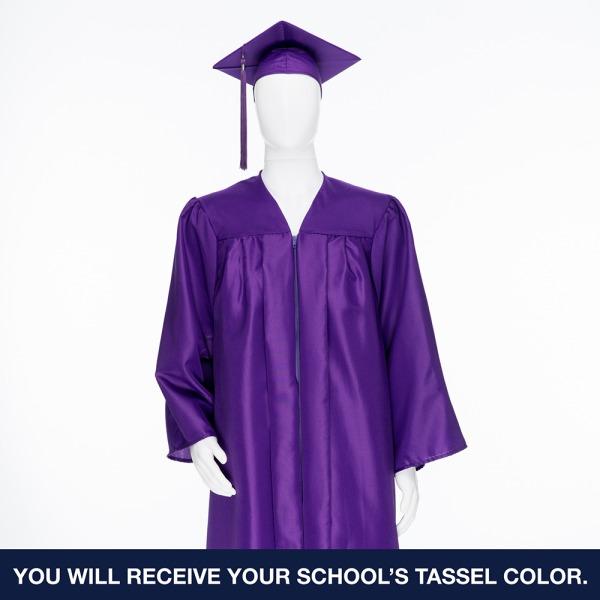 Cap & Gown Unit with Souvenir Tassle & Custom Class Stole
