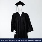 Cap & Gown Unit with Souvenir Tassel