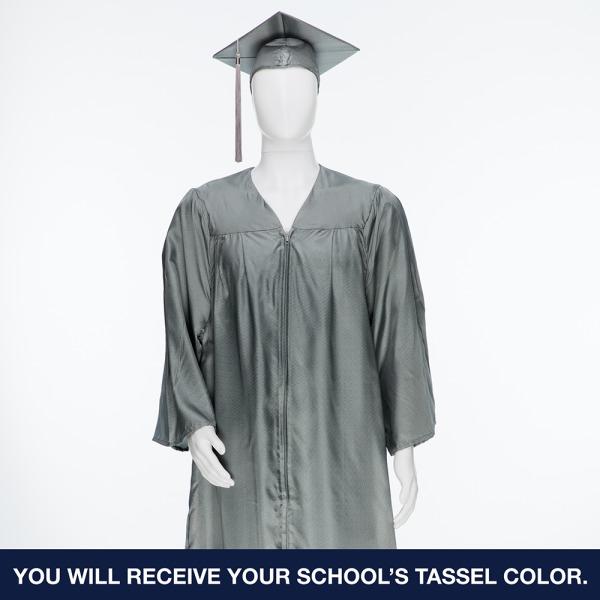 Cap, Gown, Tassel & 2020 Class Medallion