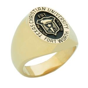 Texas Christian University class ring