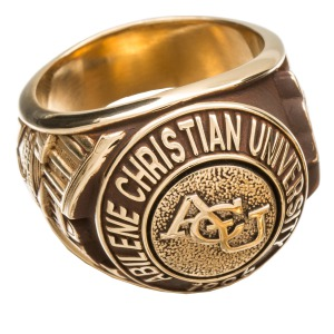 Texas Christian University Class Ring