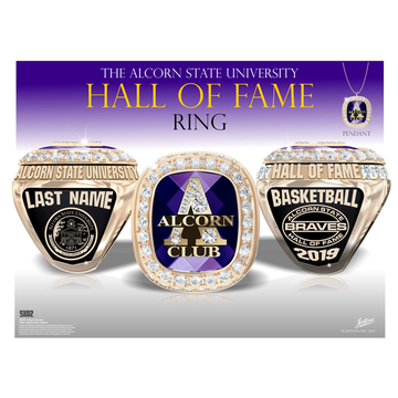 Alcorn State University Hall of Fame Championship Ring
