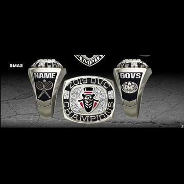 Austin Peay State University Women's Tennis 2019 OVC Championship Ring