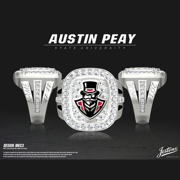 Austin Peay State University Women's Volleyball 2018 OVC Championship Ring