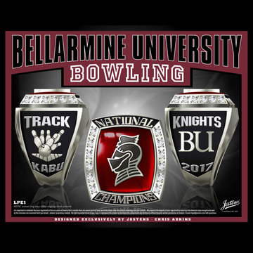 Bellarmine University Women's Bowling 2017 National Championship Ring