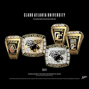 Clark Atlanta University Men's Cross Country 2015 SIAC Championship Ring