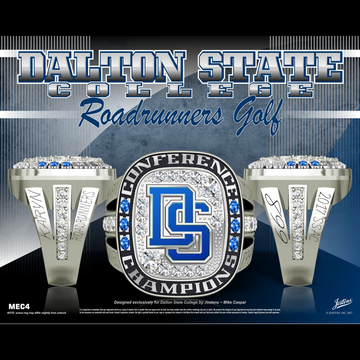 Dalton State College Women's Golf 2017 SSAC Championship Ring