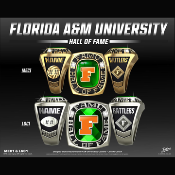 Florida A&M University Hall of Fame Championship Ring