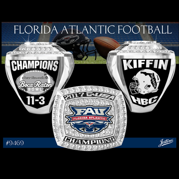 Florida Atlantic University Men's Football 2018 Conference USA Championship Ring