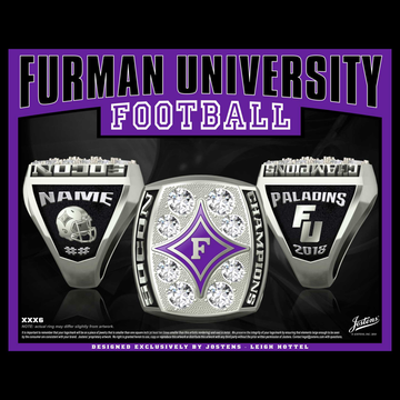 Furman University Men's Football 2018 SoCon Championship Ring