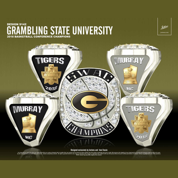 Grambling State University Women's Basketball 2018 SWAC Championship Ring