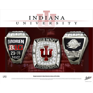 Indiana University Women's Basketball 2018 WNIT Championship Ring