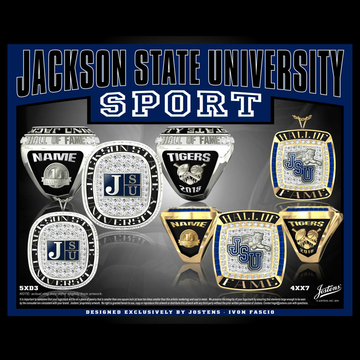 Jackson State University Hall of Fame Championship Ring