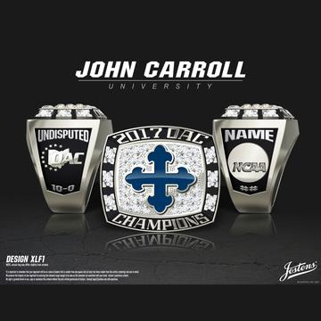 John Carroll University Men's Lacrosse 2017 OAC Championship Ring
