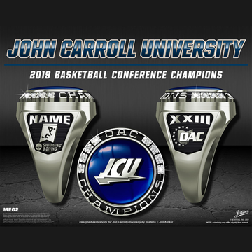 John Carroll University Women's Swimming & Diving 2019 OAC Championship Ring