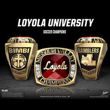 Loyola University Women's Soccer 2018 Missouri Valley Championship Ring