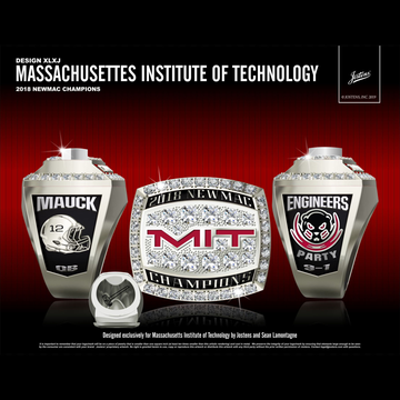 MIT Men's Football 2018 NEWMAC Championship Ring