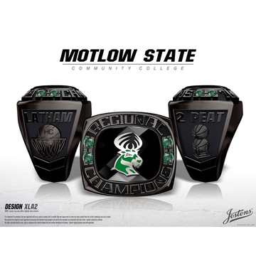 Motlow State Community College Men's Basketball 2018 Conference Championship Ring