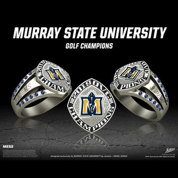 Murray State University Women's Golf 2019 OVC Championship Ring