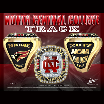 North Central College Men's Track & Field 2017 National Championship Ring