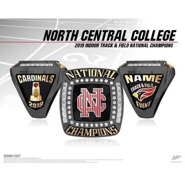North Central College Men's Track & Field 2019 National Championship Ring