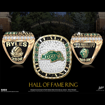 North Dakota State University Hall of Fame Championship Ring