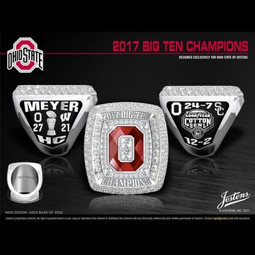 Ohio State University Men's Football 2017 Big Ten Championship Ring