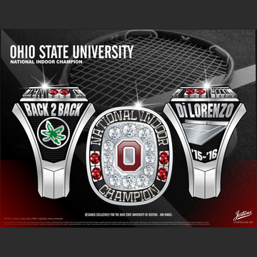 Ohio State University Women's Track & Field 2016 National Championship Ring