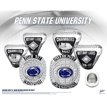 Penn State University Men's Basketball 2018 NIT Championship Ring