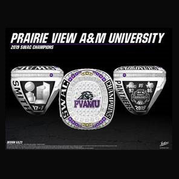 Prairie View A&M University Men's Basketball 2019 SWAC Championship Ring