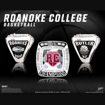 Roanoke College Men's Basketball 2000 ODAC Championship Ring