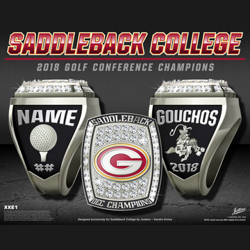 Saddleback College Women's Golf 2018 OEC Championship Ring