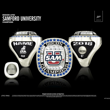 Samford University Women's Volleyball 2018 SoCon Championship Ring