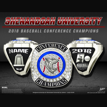 Shenandoah University Men's Baseball 2018 Conference Championship Ring