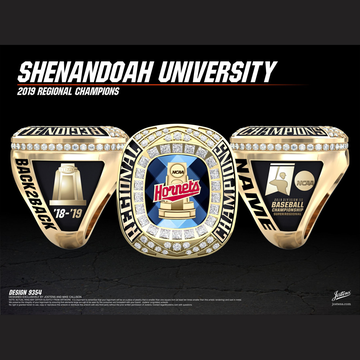 Shenandoah University Men's Baseball 2019 Regional Championship Ring