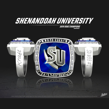 Shenandoah University Women's Basketball 2019 ODAC Championship Ring