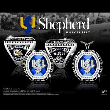Shepherd University Hall of Fame Championship Ring