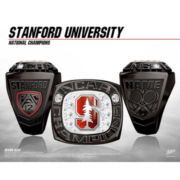Stanford University Women's Tennis 2018 National Championship Ring