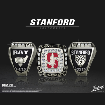 Stanford University Men's Golf 2019 Pac-12 Championship Ring