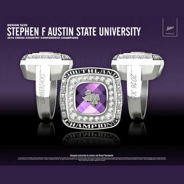 Stephen F. Austin State University Women's Cross Country 2016 Southland Championship Ring
