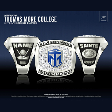 Thomas More College Men's Golf 2017 PAC Championship Ring