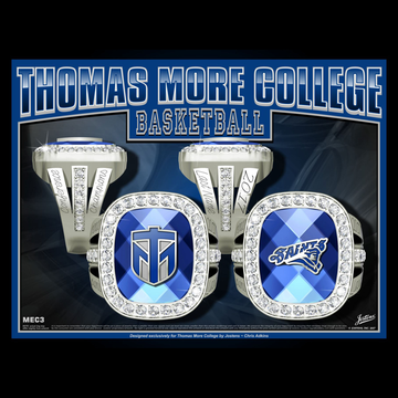 Thomas More College Women's Basketball 2017 Conference Championship Ring
