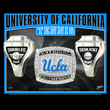 UCLA Men's Tennis 2018 National Championship Ring