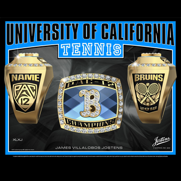 UCLA Men's Tennis 2018 Pac-12 Championship Ring
