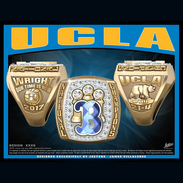 UCLA Men's Water Polo 2017 National Championship Ring